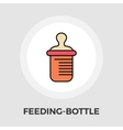 Feeding bottle flat icon vector image vector image