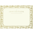 invitation to the wedding vector image vector image