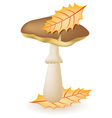mushroom greasers vector image vector image