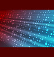 red blue shiny tech abstract background with vector image vector image