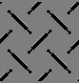 wooden rolling pins seamless pattern vector image vector image
