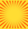 abstract sun rays wavy yellow and white vector image vector image