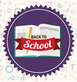 Back to school icons design vector image vector image