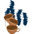 C coffe vector image vector image