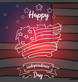 collection stock of independence day style card vector image vector image