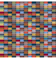 Colorful geometric structure vector image