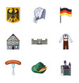 herba germany symbols and other web icon in vector image