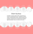human teeth in mouth infographics dental care vector image vector image