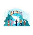peace international day world global harmony vector image