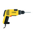 power tools drill vector image vector image