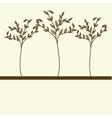 Three tree vector image