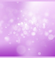 abstract bokeh winter background eps 10 vector image