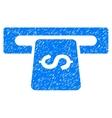 Banking Machine Grainy Texture Icon vector image vector image