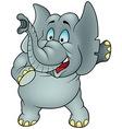 Talking Elephant vector image vector image