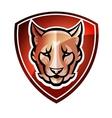 Mascot Shield vector image vector image