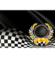 Racing Background vector image vector image