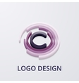 Stock 3d logo letter c vector image vector image