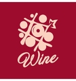 Wine shop sign vector image vector image