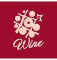 Wine shop sign vector image
