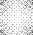 Abstract monochrome line square pattern background vector image vector image