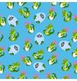 baby crocodile or alligator vector image vector image
