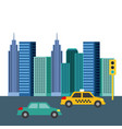 buildings city skyline image vector image