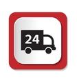 con 24 truck vector image vector image