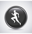 Man running icon Sport design graphic vector image vector image