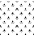 painting tool pattern seamless vector image vector image