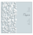 Paper swirls background vector image vector image