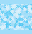 blue puzzle seamless vector image vector image