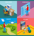 digital gadget evolution isometric concept vector image