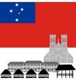 Samoa vector image vector image