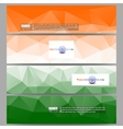 Set of modern banners Background for Happy Indian vector image vector image