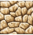 stone seamless pattern vector image vector image