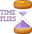 Time Flies vector image vector image