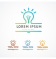 Business logo vector image