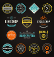 Bike graphics vector image vector image