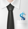 Dollar signs Stock vector image