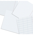 paper workspace vector image vector image