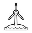 renewable energy source icon image vector image vector image