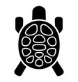 sea turtle icon simple style vector image