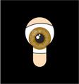 Spy eye vector image vector image