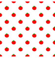 tomato pattern seamless vector image vector image