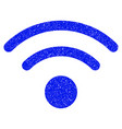 wi-fi grunge icon vector image vector image