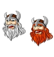 Viking warrior mascot vector | Price: 1 Credit (USD $1)