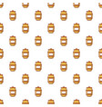 barrel of honey pattern seamless vector image vector image