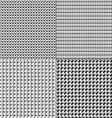 black white grey geometrics vector image