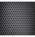 Chrome metal grid vector image vector image