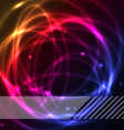 colorful plasma background vector image vector image